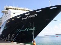 An Bord der Mein Schiff 2 gibt es ein Kulturprogramm mit Prominenten