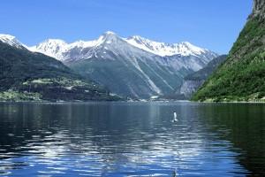 Geiranger Fjord in Norwegen