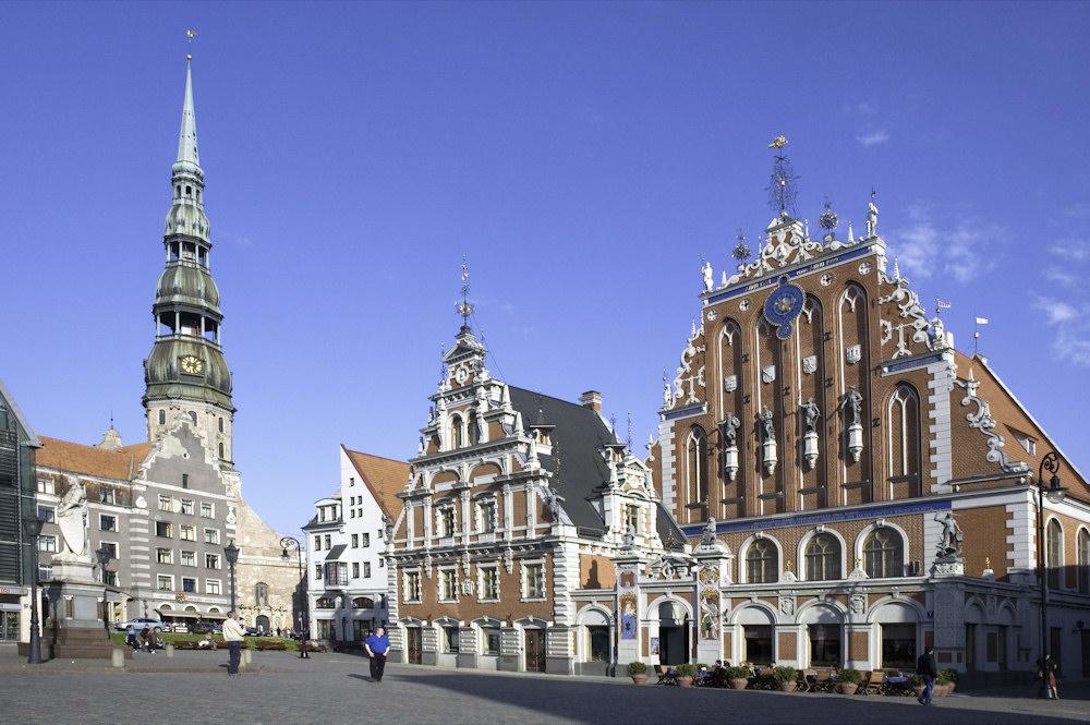 Lettlands Hauptstadt Riga