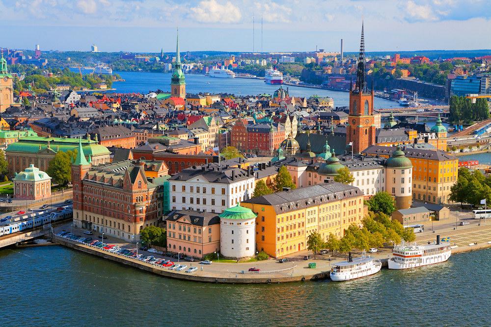 Besuchen Sie das bezaubernde Stockholm
