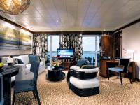 Das Design der Suiten in The Haven ist außergewöhnlich - Foto: Norwegian Cruise Line