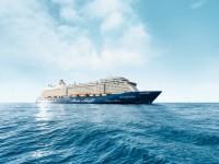 Der Neubau Mein Schiff 5 wird am 01. Juni 2017 in Hamburg getauft