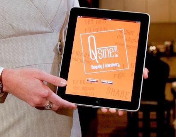 Die Bestellung der Speisen erfolgt über iPads