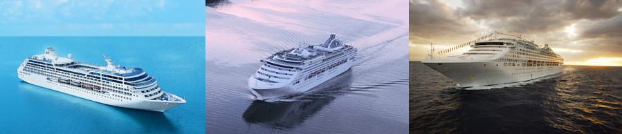 Weltreisen können Sie auch mit den Schiffen der Princess Flotte erleben!