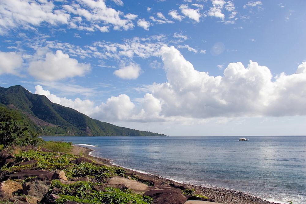 Guadeloupe in der östlichen Karibik