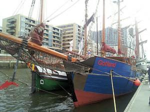Traditionsschiffe auf dem Hafengeburtstag