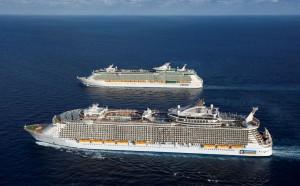 Die Schiffsgröße ist ein wichtiges Kriterium bei der Wahl des geeigneten Kreuzfahrtschiffes
