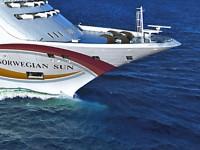 die Norwegian Sun gehört zu den mittelgroßen Schiffen