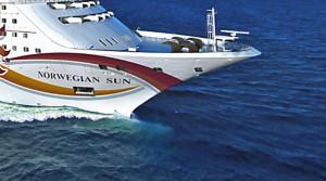 die Norwegian Sun hat eine mittlere Schiffsgröße