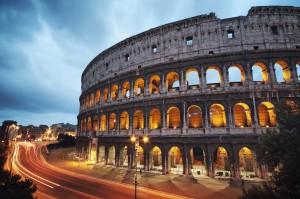 Das Kollosseum in Rom