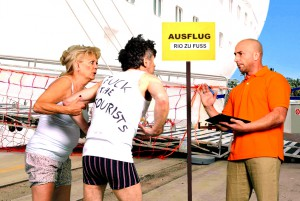 Die Slums von Rio auf eigene Gefahr? Für Heidrun und Karl bleibt dieser Ausflug unvergesslich.