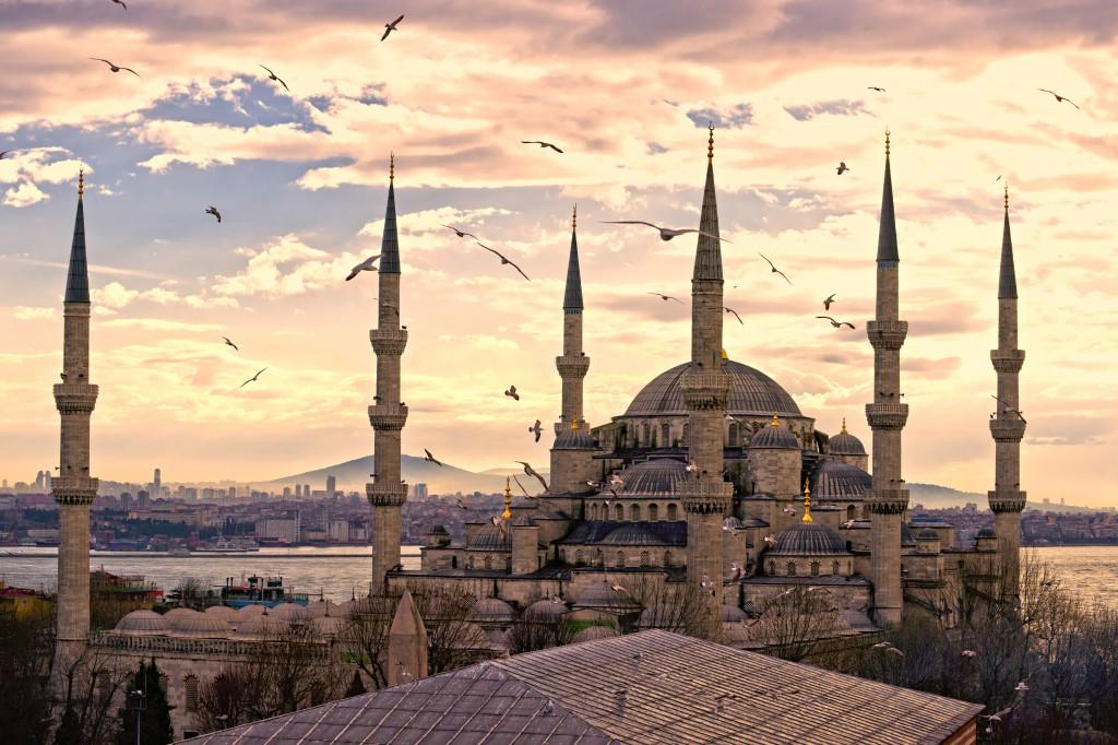 Die Blaue Moschee in Istanbul