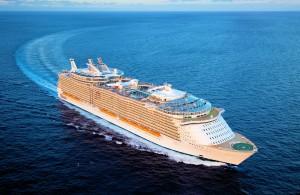 Die Oasis of the Seas revolutionierte 2009 die Kreuzfahrt-Welt