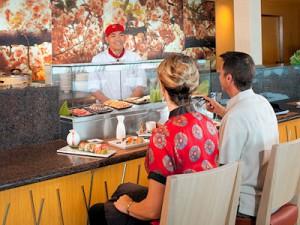 Im Spezialitätenrestaurant Izumi gibt es traditionelle asiatische Gerichte