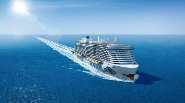So Sollen die neuen AIDA-Megaliner aussehen. © Bild: AICA Cruises