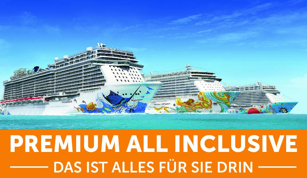 premium all inclusive jetzt auch bei norwegian cruise line. Black Bedroom Furniture Sets. Home Design Ideas