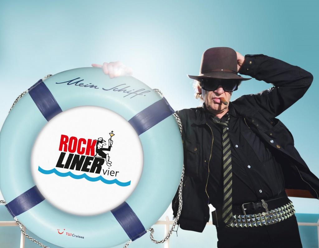 Der Rockliner mit Udo Lindenberg ist eine der beliebtesten Event-Kreuzfahrten.  © Foto: TUI Cruises