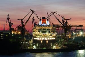 Schiffe gucken Hamburger Hafen Elbe