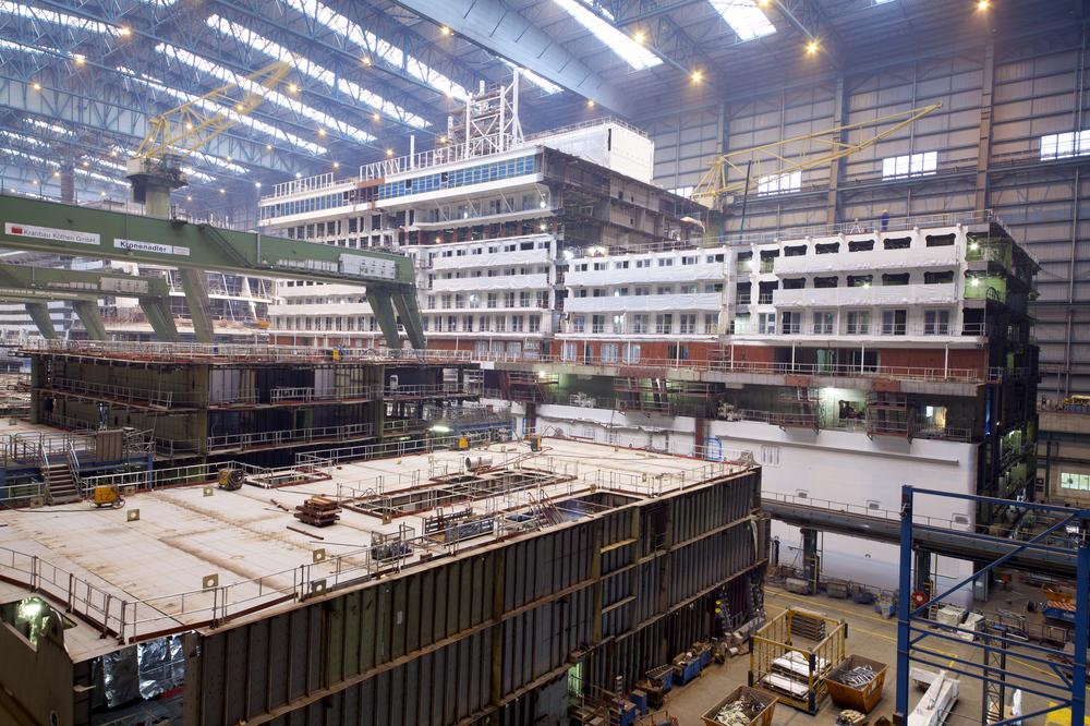 Besichtigung Meyer Werft