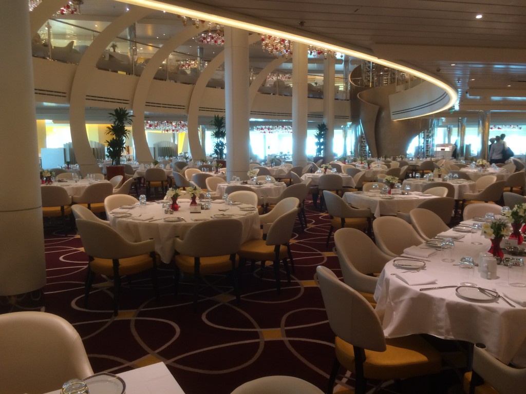 Hauptrestaurant MS Koningsdam
