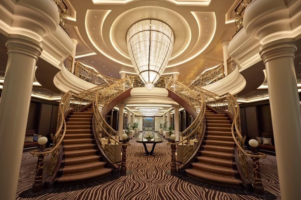 Die Seven Seas Explorer vermittelt ein luxuriöses Ambiente.