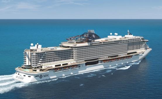 Ab 2018 kreuzt die MSC Seaside durch die Karibik. © Bild: MSC Cruises