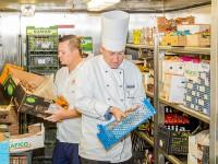 An Bord der Mein Schiff 4 wurden alle Lebensmittel geprüft. © Foto: TUI Cruises