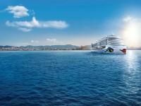 Ab Juli 2017 kreuzt AIDAperla durch das westliche Mittelmeer