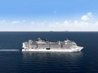 MSC Meraviglia im Mittelmeer