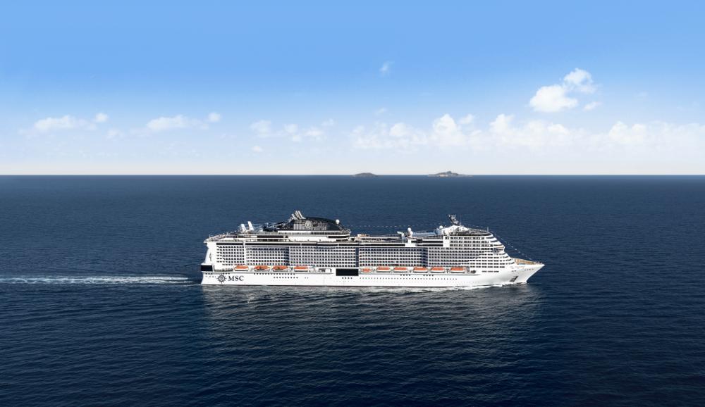 MSC Meraviglia im Mittelmeer - Port-Info