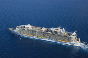 Oasis of the Seas im Mittelmeer