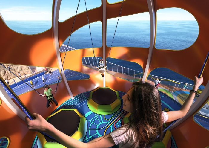 SkyPad Trampolin Royal Caribbean
