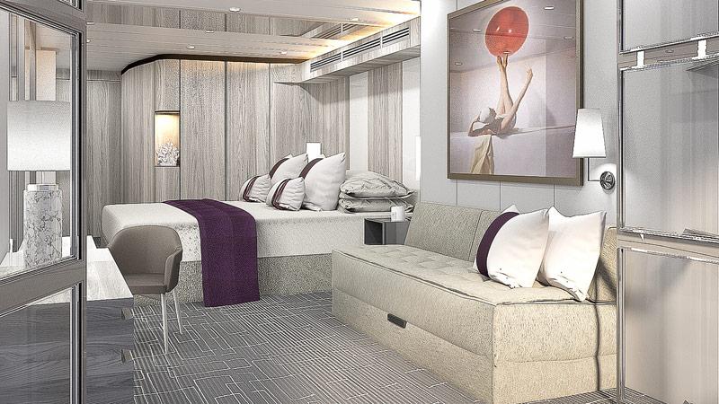 Modernisierung bei Celebrity Cruises