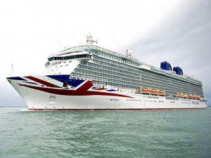 Kreuzfahrtschiff von P&O Cruises