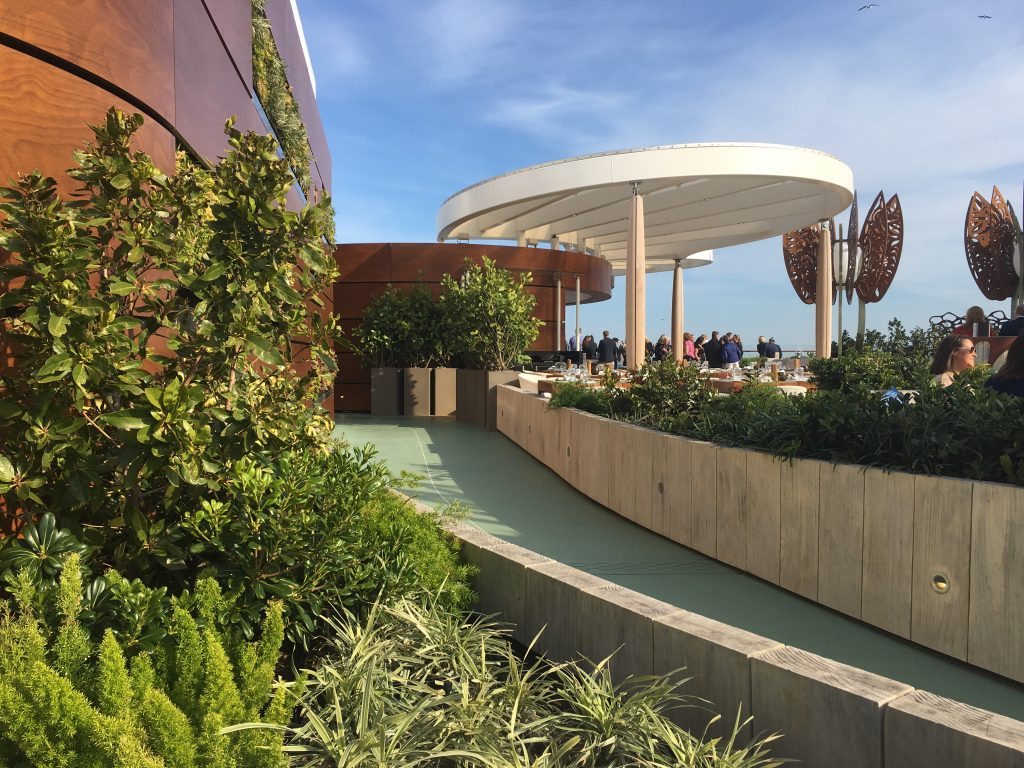 Rooftop Garden der Celebrity Edge