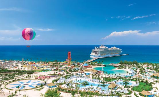 """Bahamas-Privatinsel """"Perfect Day at CocoDay"""" von Royal Caribbean International."""