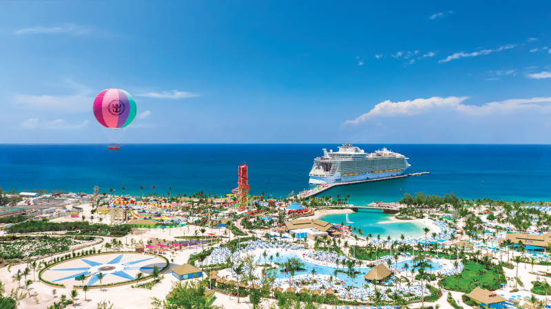 "Bahamas-Privatinsel ""Perfect Day at CocoDay"" von Royal Caribbean International."