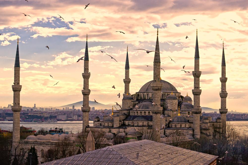 Die Sultan-Ahmed-Moschee in Istanbul. Foto: Fotolia