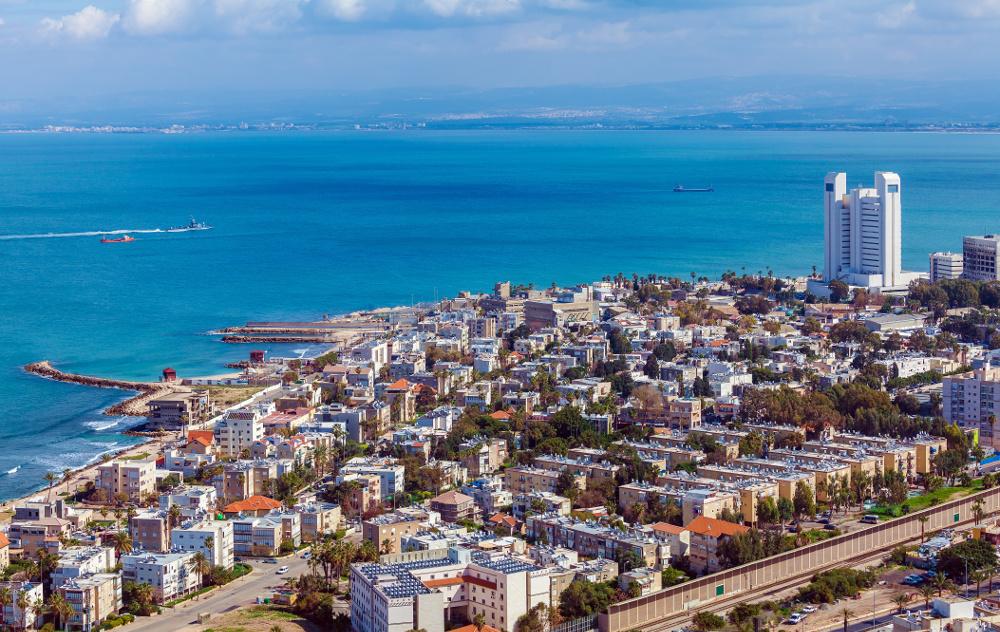 Ein Ausblick auf die Bucht von Haifa. Foto: Fotolia
