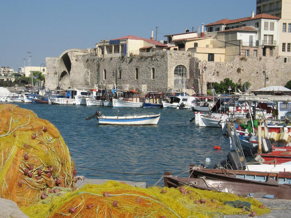 Der Hafen von Heraklion. Foto: Fotolia